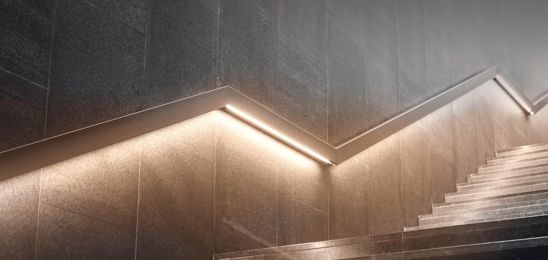 Fairsure Staircase lights on showing growth